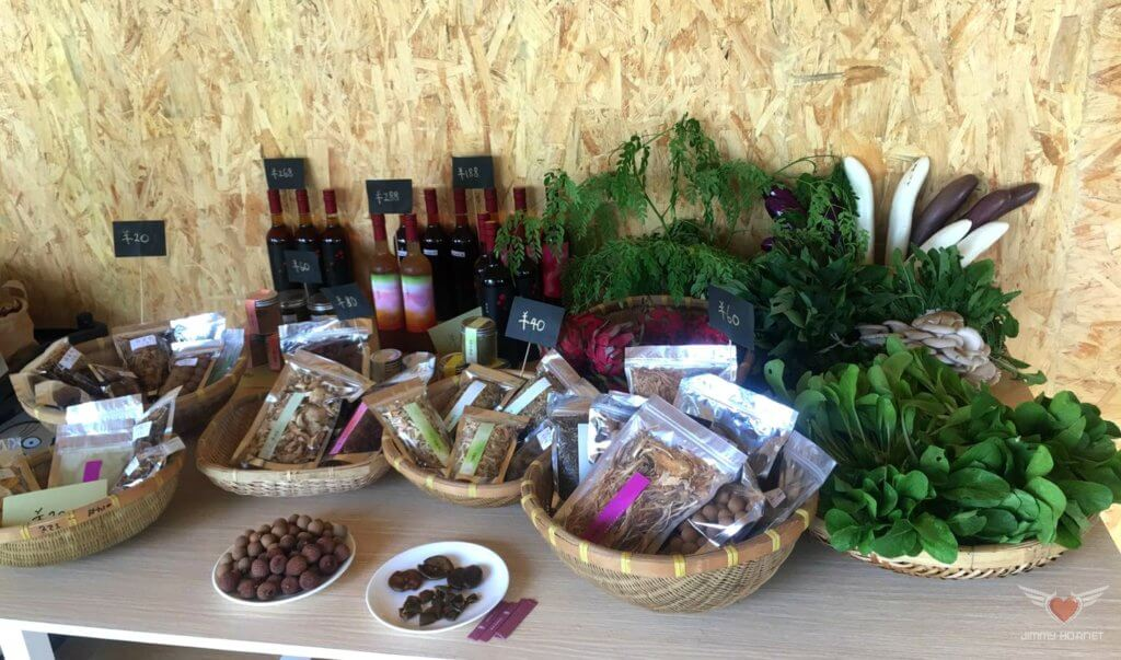 Organic Items for Sale at Flow Organic Farm and Animal Sanctuary