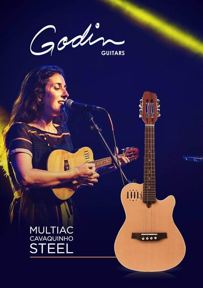 Veronica Nunes and Godin Guitars for Jimmy Hornet