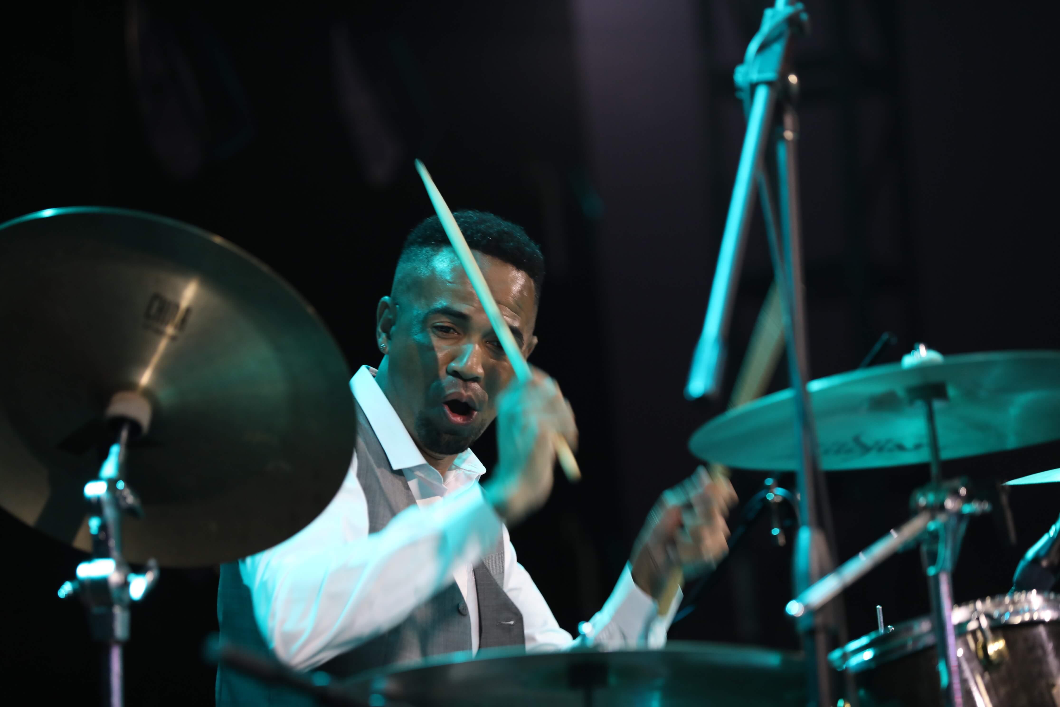 Diego Oliveira Drummer at Jimmy Hornet