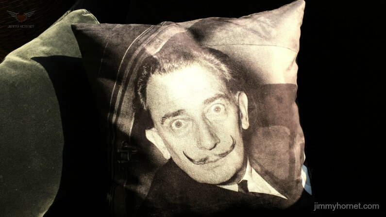 Salvador Dali Cushion
