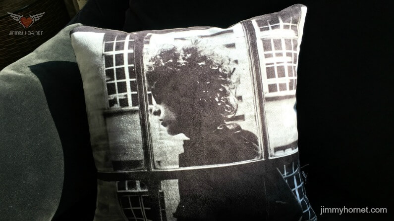 Bob Dylan Cushion