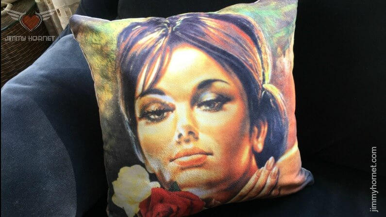 """Rose"" Art Cushion"