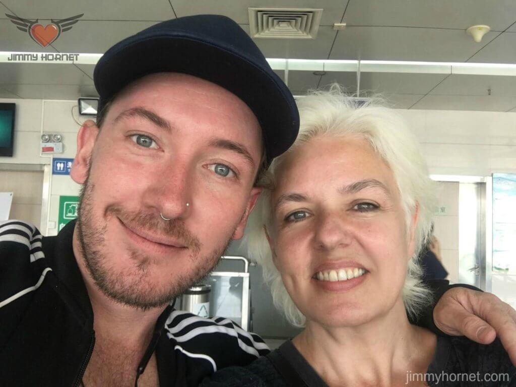 Anthea Palmer and Jamie MacDowell, Zhongshan China 2018