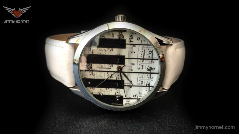 Piano Keys Wrist Watch
