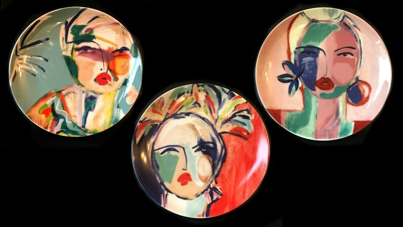 Three Sisters Art Plate Series