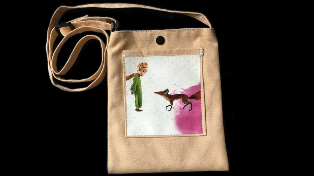 "Canvas Bag ""Meet Foxy"""