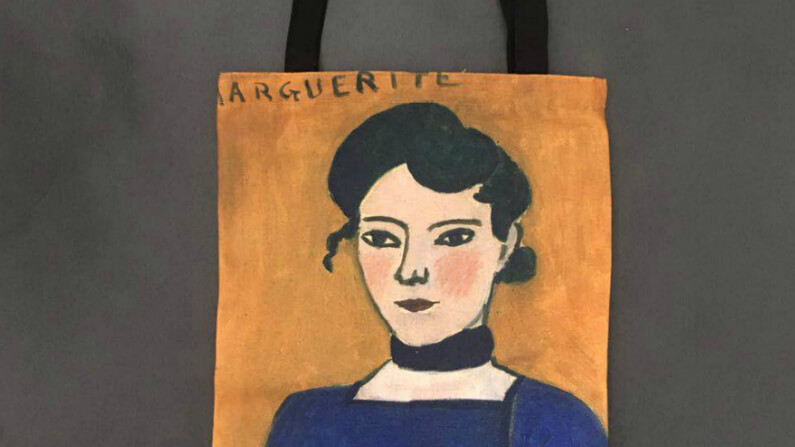 Matisse Canvas Tote Bag