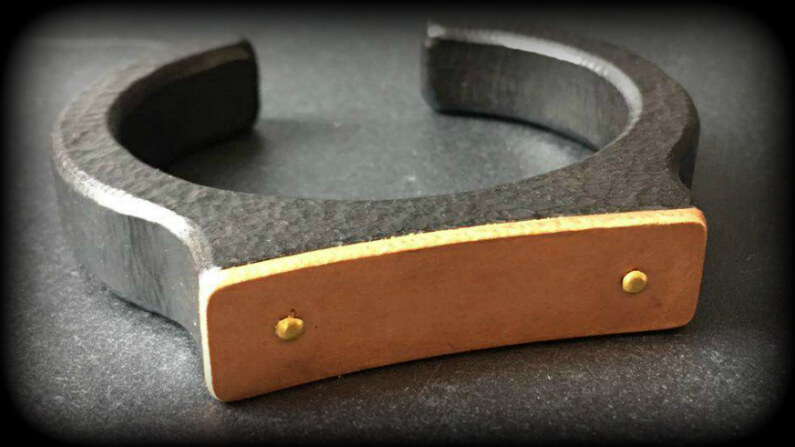 Men's Bracelet Handcrafted in Ebony