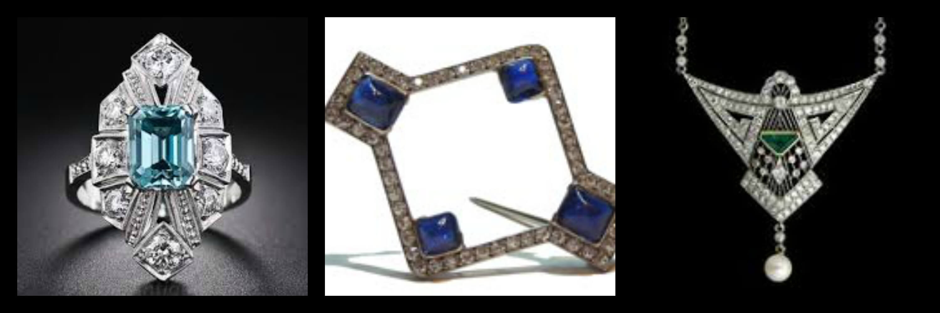 Examples of Art Deco Jewellery