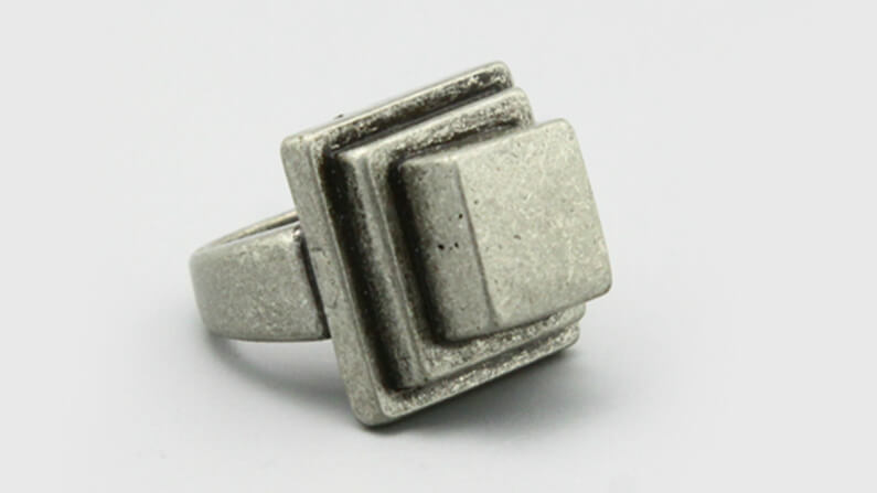 Industrial Style Iron Ring