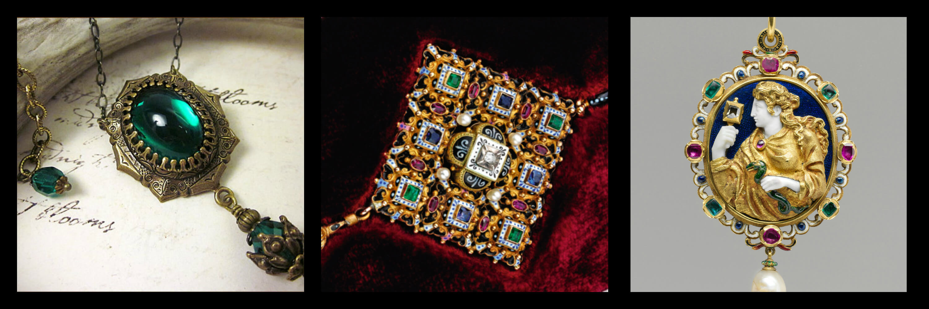 Examples of Renaissance Jewellery