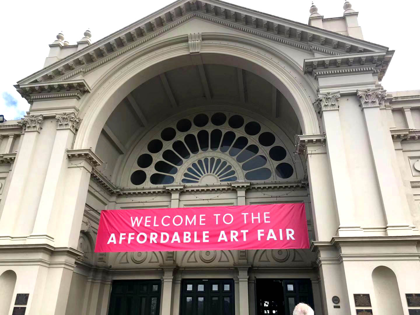 Sign for the Affordable Art Fair
