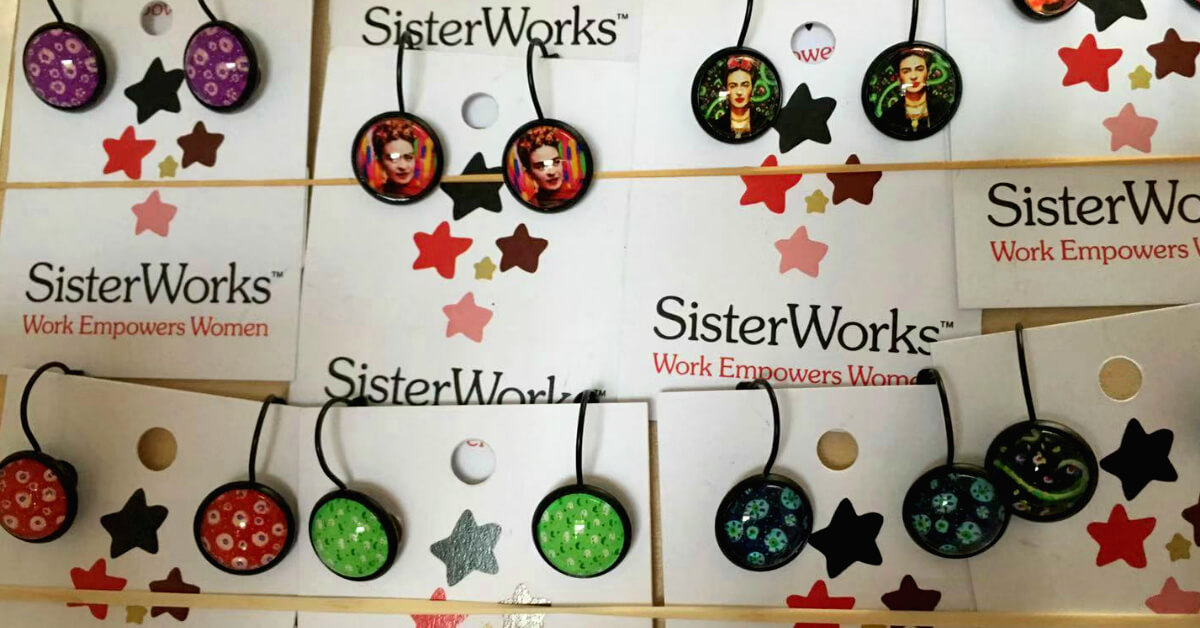 Handmade Earrings by SisterWorks