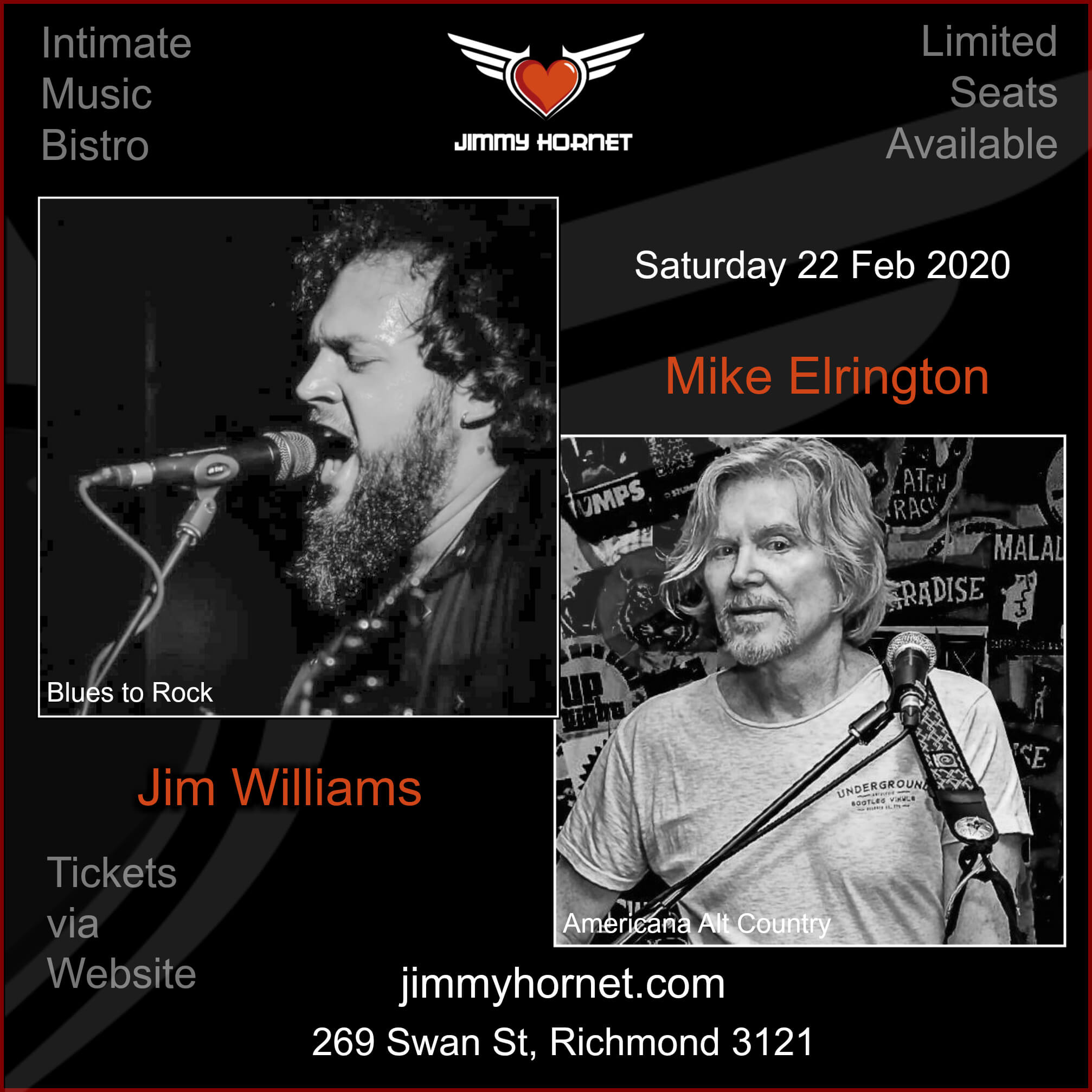 Mike Elrington and Jim Williams