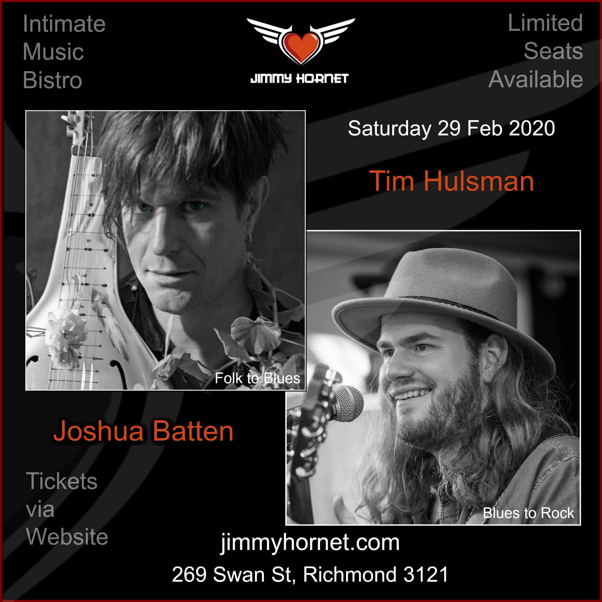 Tim Hulsman and Joshua Batten