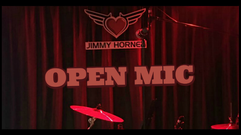 Tue 7 July - Open Mic
