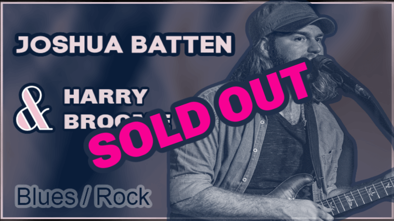 Poster Joshua Batten Sold Out
