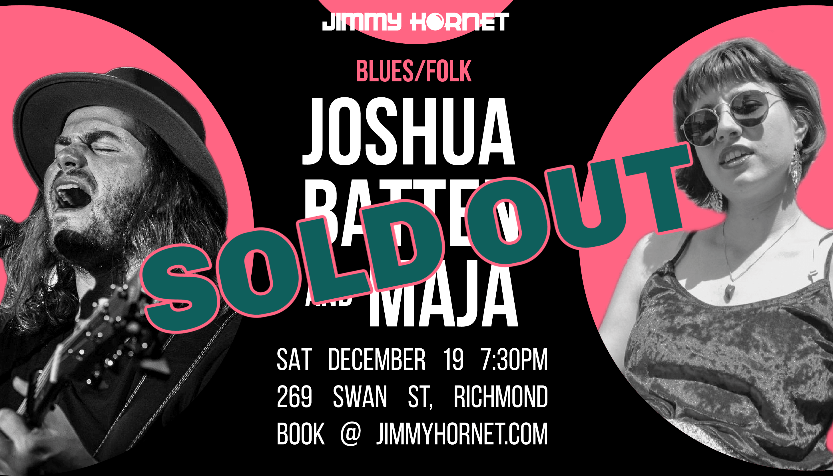 Sold Out Sat 19 Dec