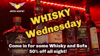 Whisky Wednesdays at Jimmy Hornet