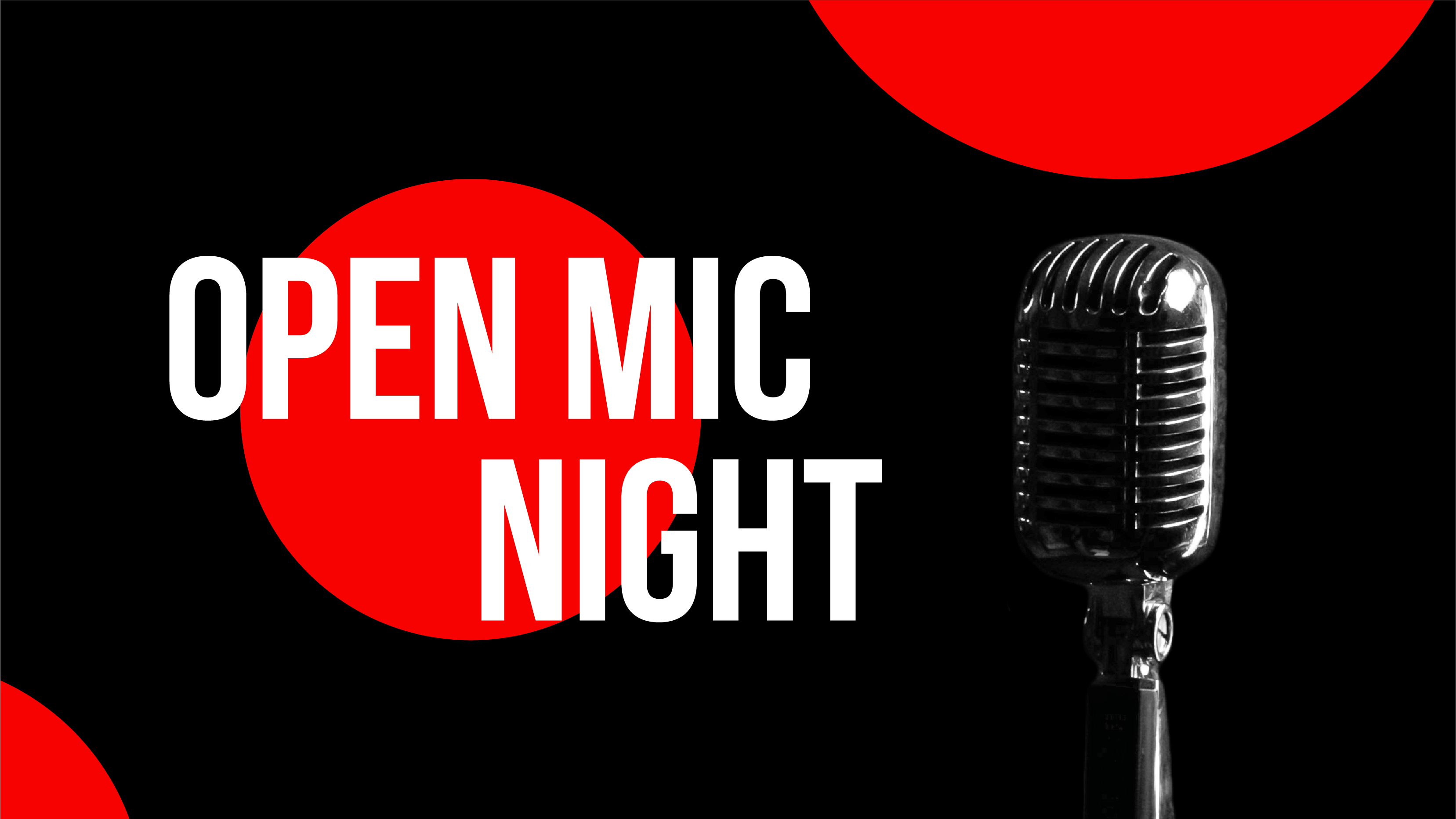 Tue 19 January 2021 Open Mic