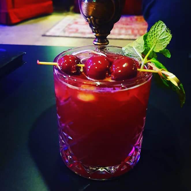 Cherry Lee Lewis Cocktail