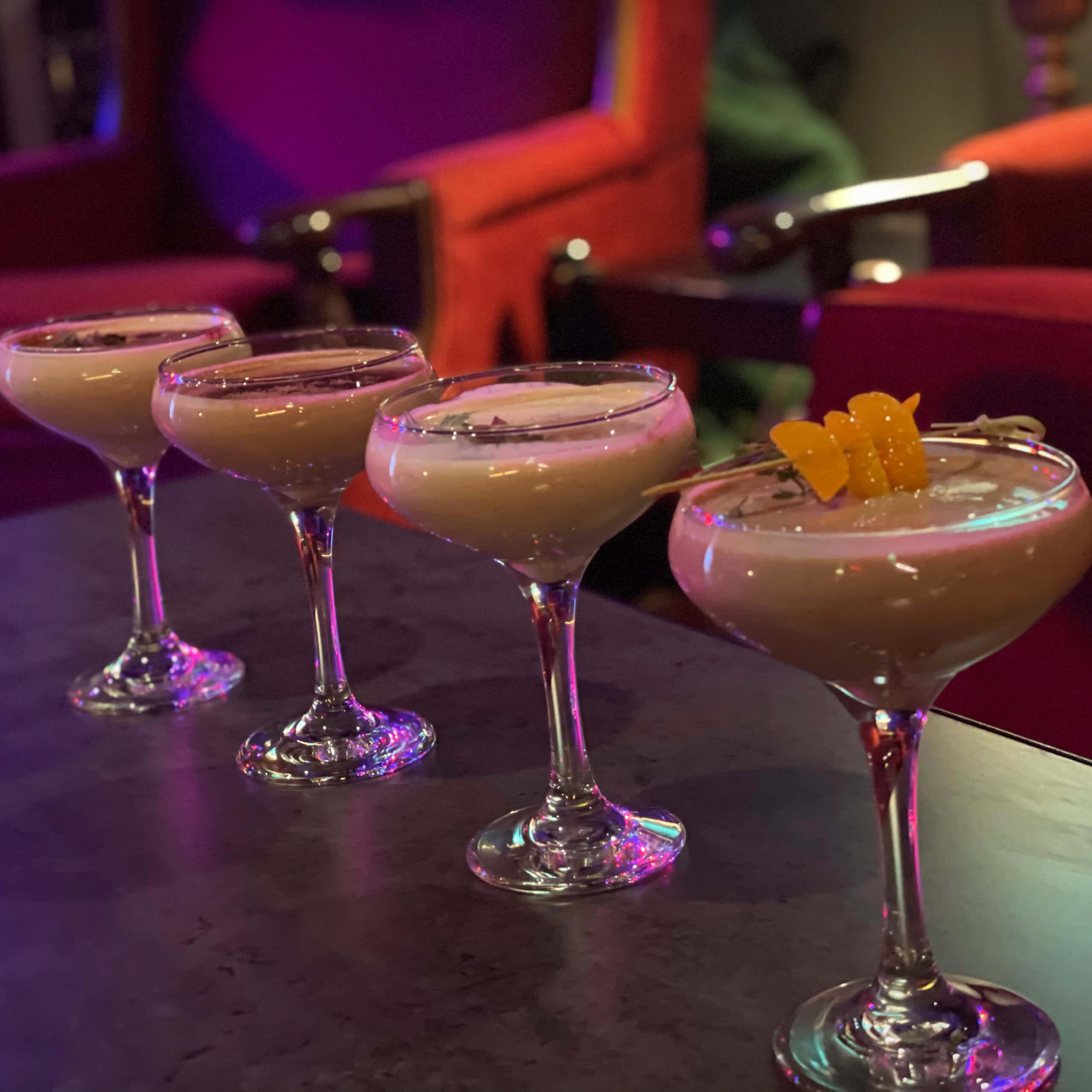 Cocktails at Jimmy Hornet