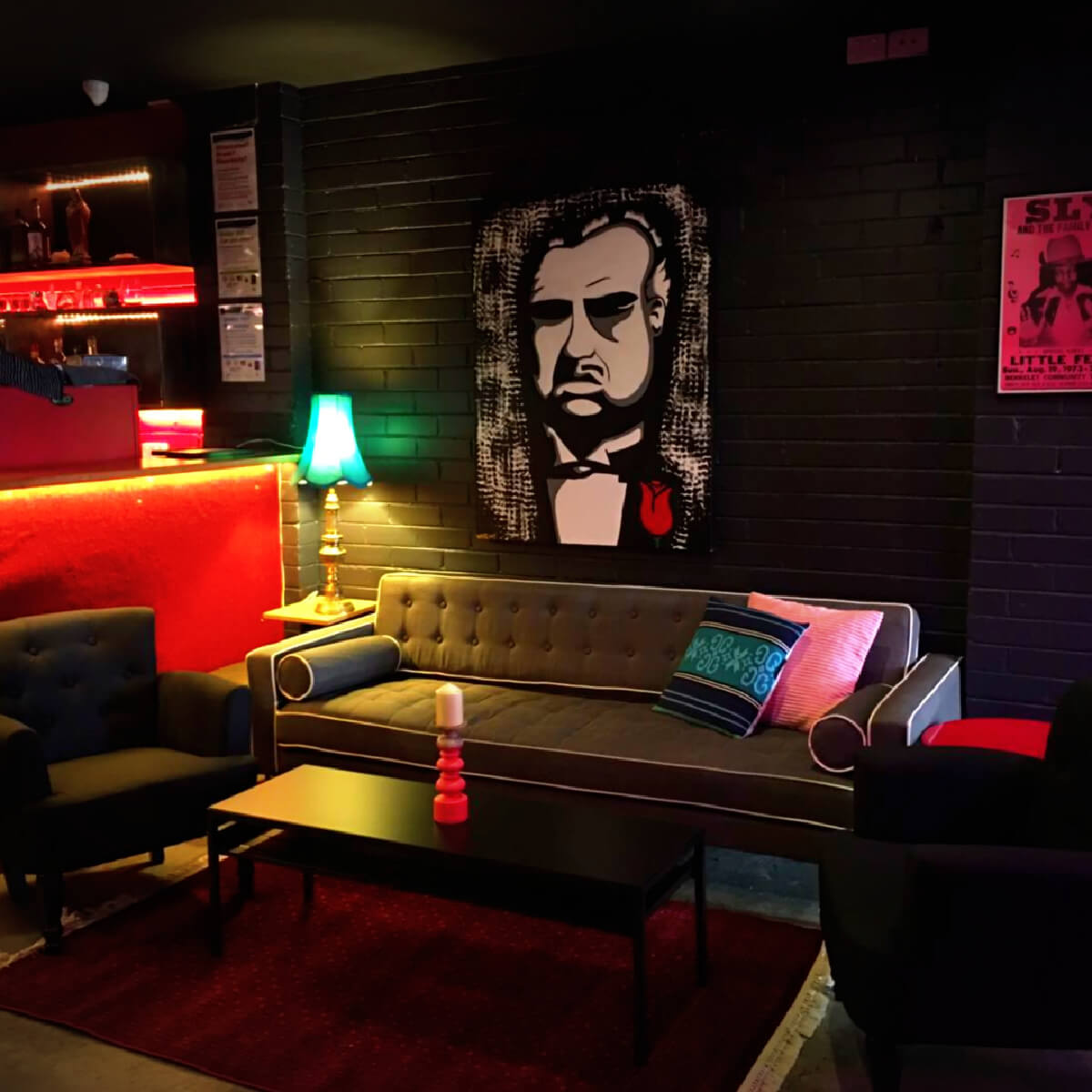 Lounge at Jimmy Hornet