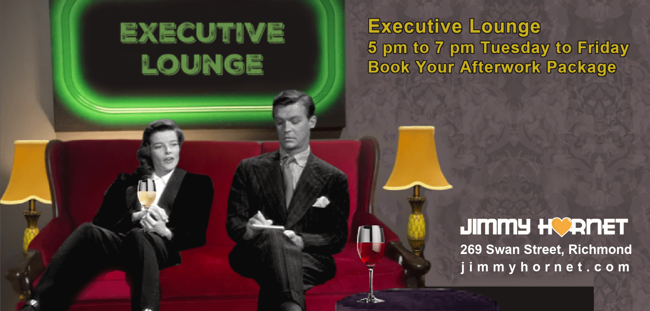 Executive Lounge at Jimmy Hornet
