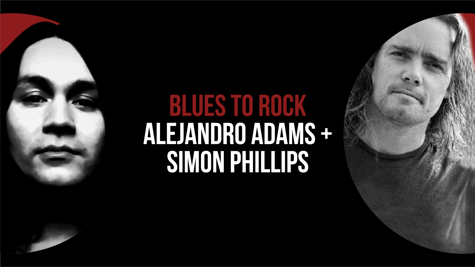 Alejandro Adams with Duncan Yardley and Simon Phillips