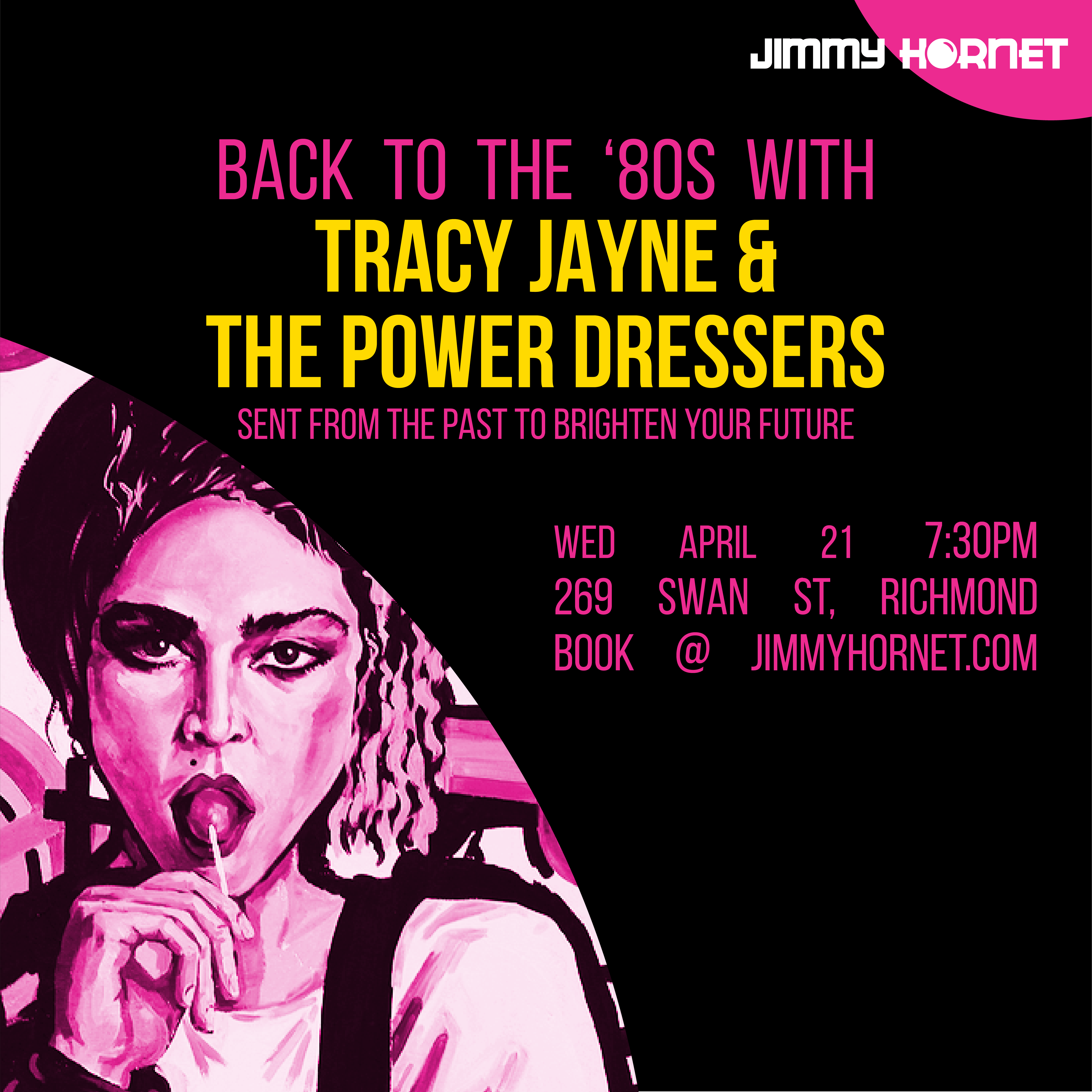 Tracy Jayne and the Powerdressers