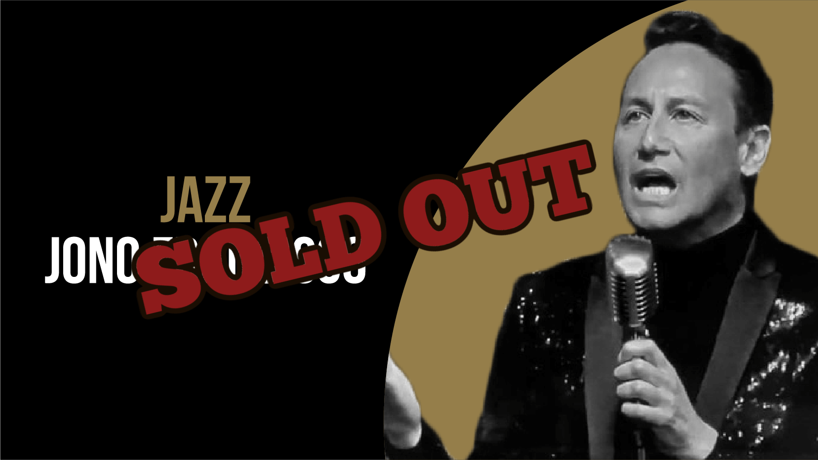 Wednesday 12 May Sold Out