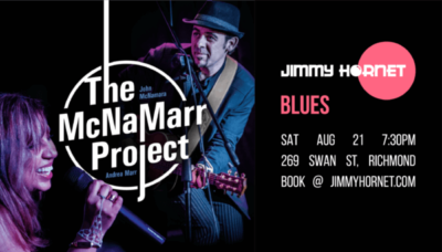 Live Music Saturday 21 August 2021